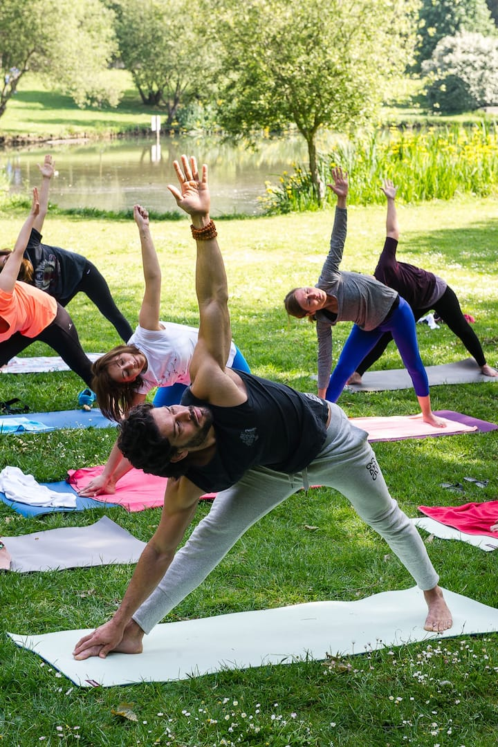 Yoga at Porto City Park