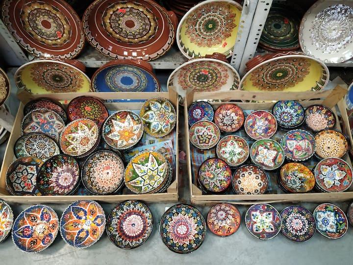 Unique Bulgarian pottery