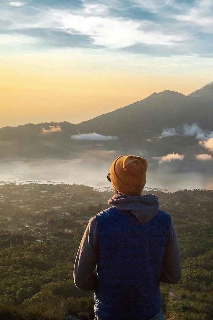Mt. Batur Before Sunrise