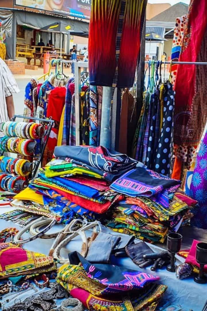 Vendors shop Vilakazi street