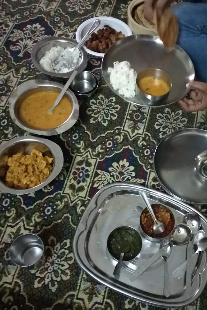 authentic Rajasthani food