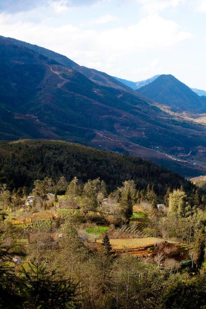 See from Sa Seng village