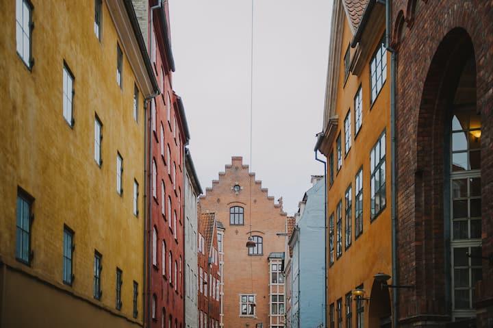 Charming picturesque alleyways