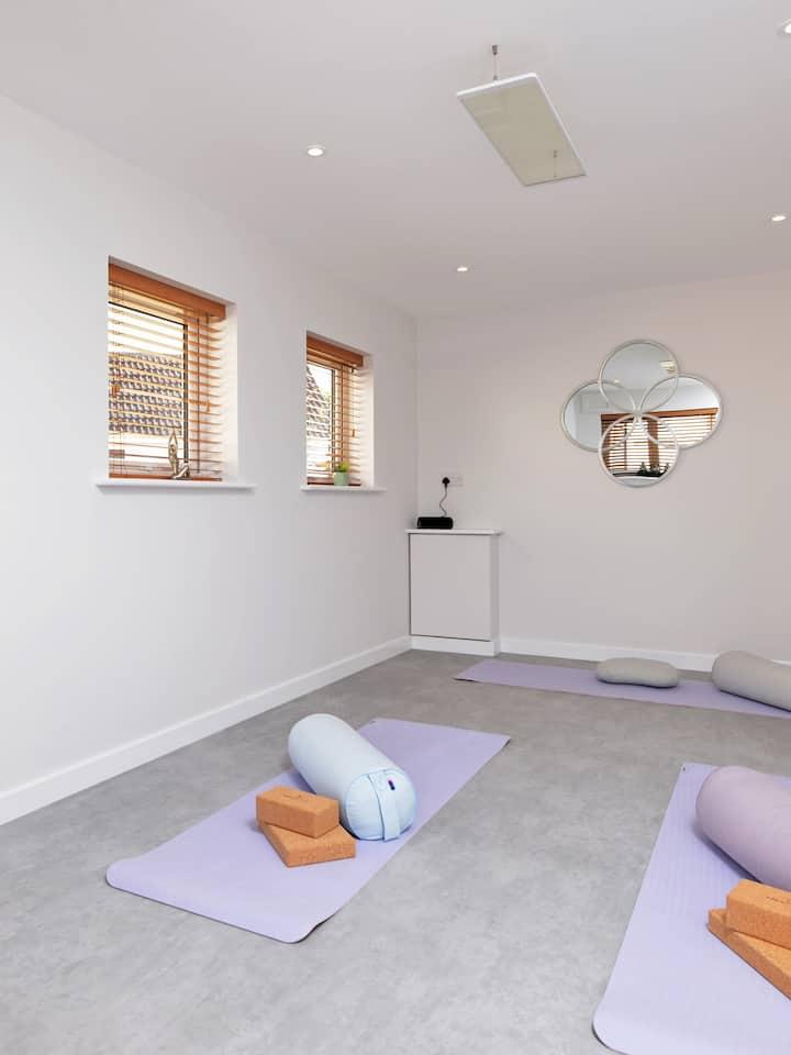 Dedicated yoga studio