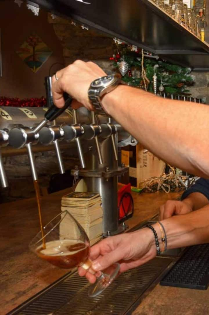 Beer tapping crash course