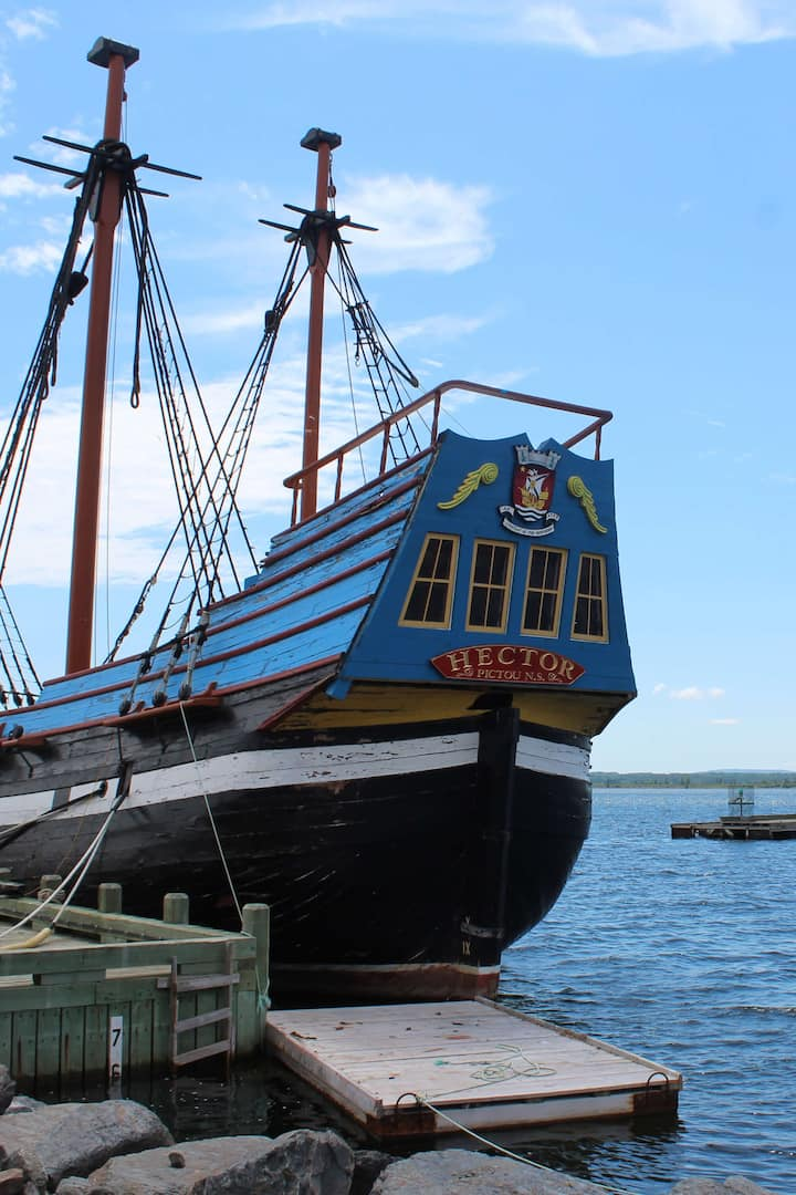 Explore Some History at Port