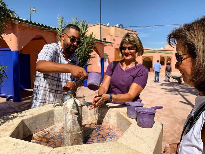 Marrakesh Jewish Cementery Miaira