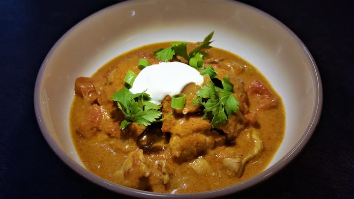 Murgh Chicken Makhani Curry