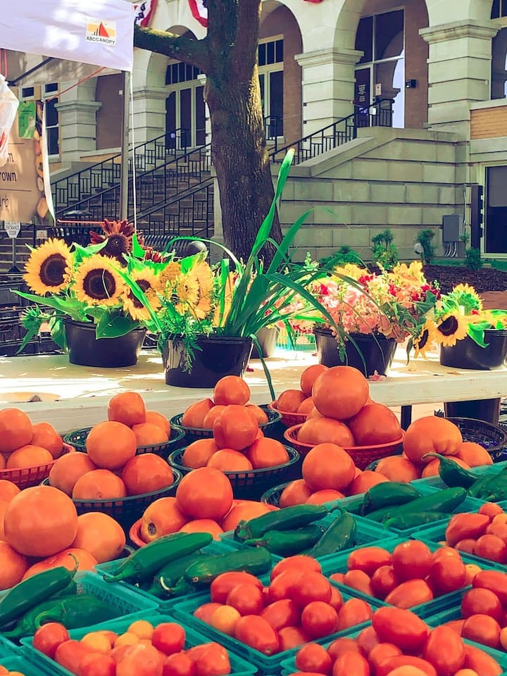 Our lovely farmers market