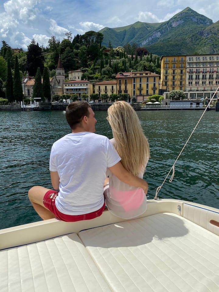 Bellagio the pearl of the lake