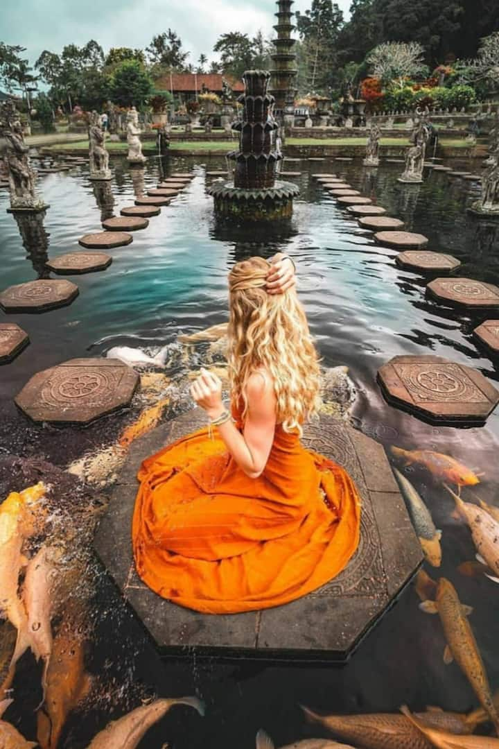 This the water palace/temple you will do