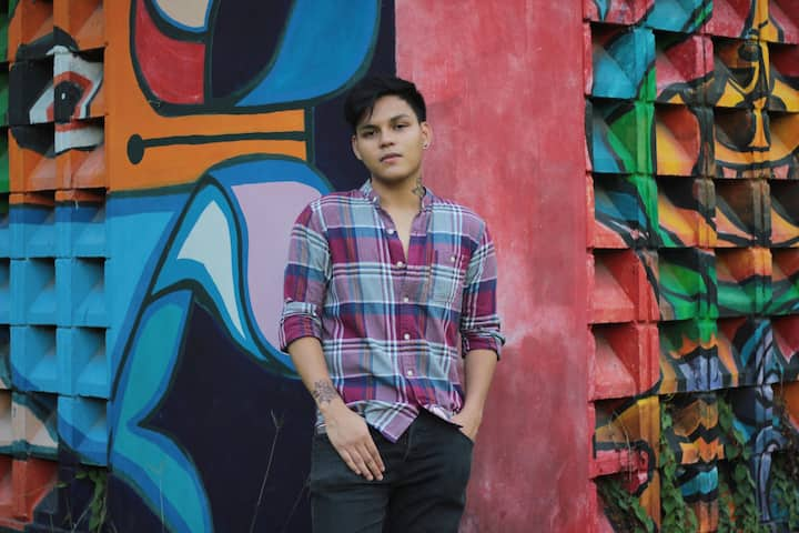 OOTD with the colorful murals in UP