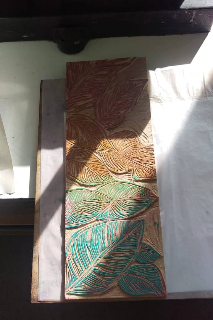 carving on wood