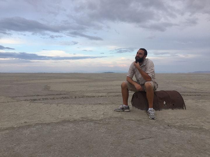 Desert scenery by locations.