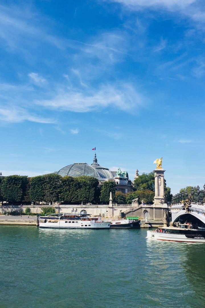 Visite des quais de Seine
