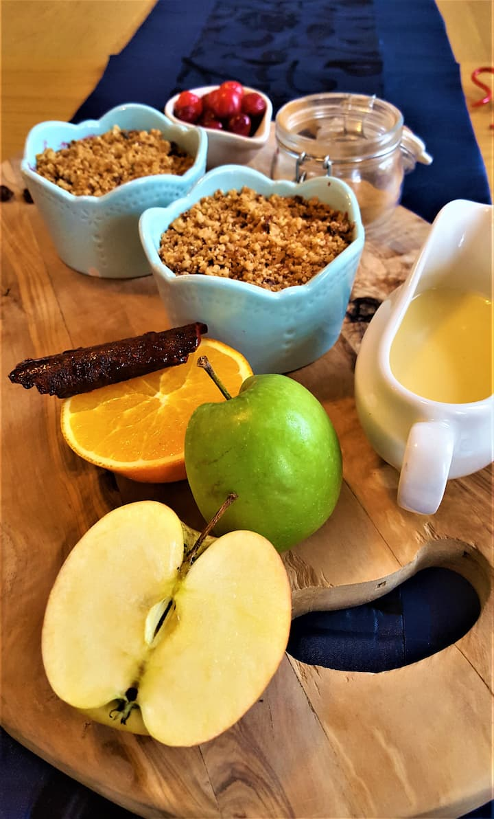 Chef Mag's New Town Apple Crumble