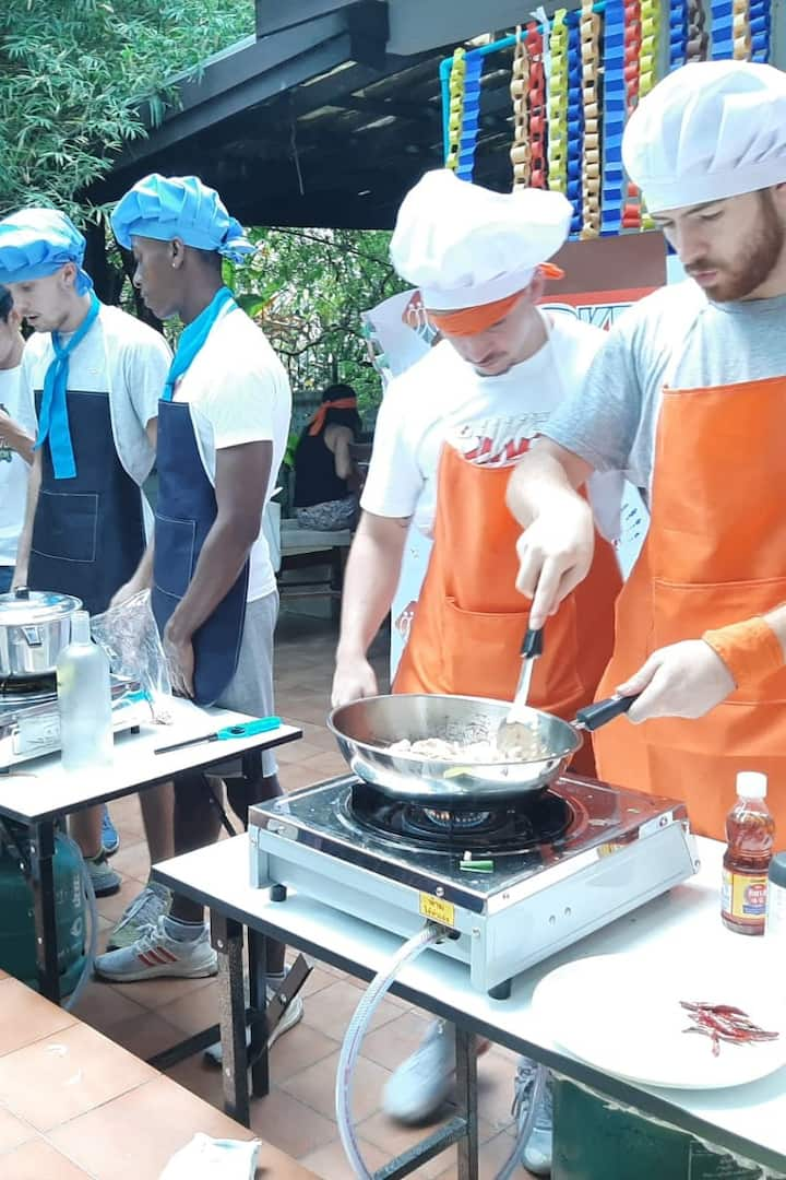 Raise the master chef challenge
