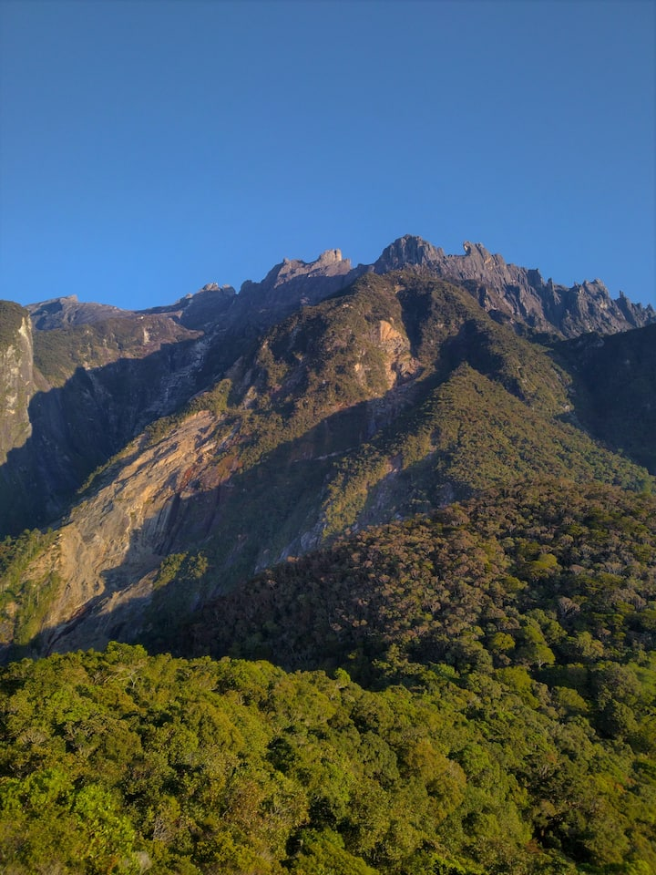 Be close to the majestic Mount Kinabalu