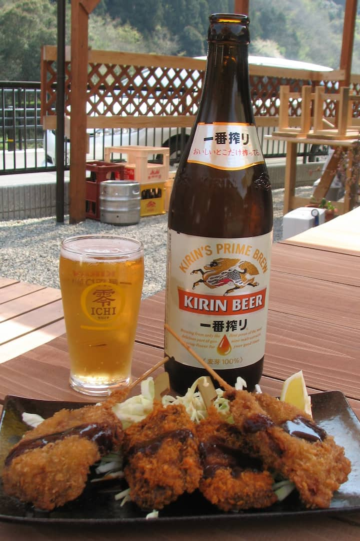 Beer, wild pork and venison