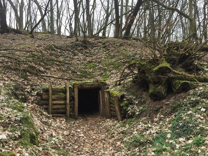 Marshel Zhukov's command bunker.