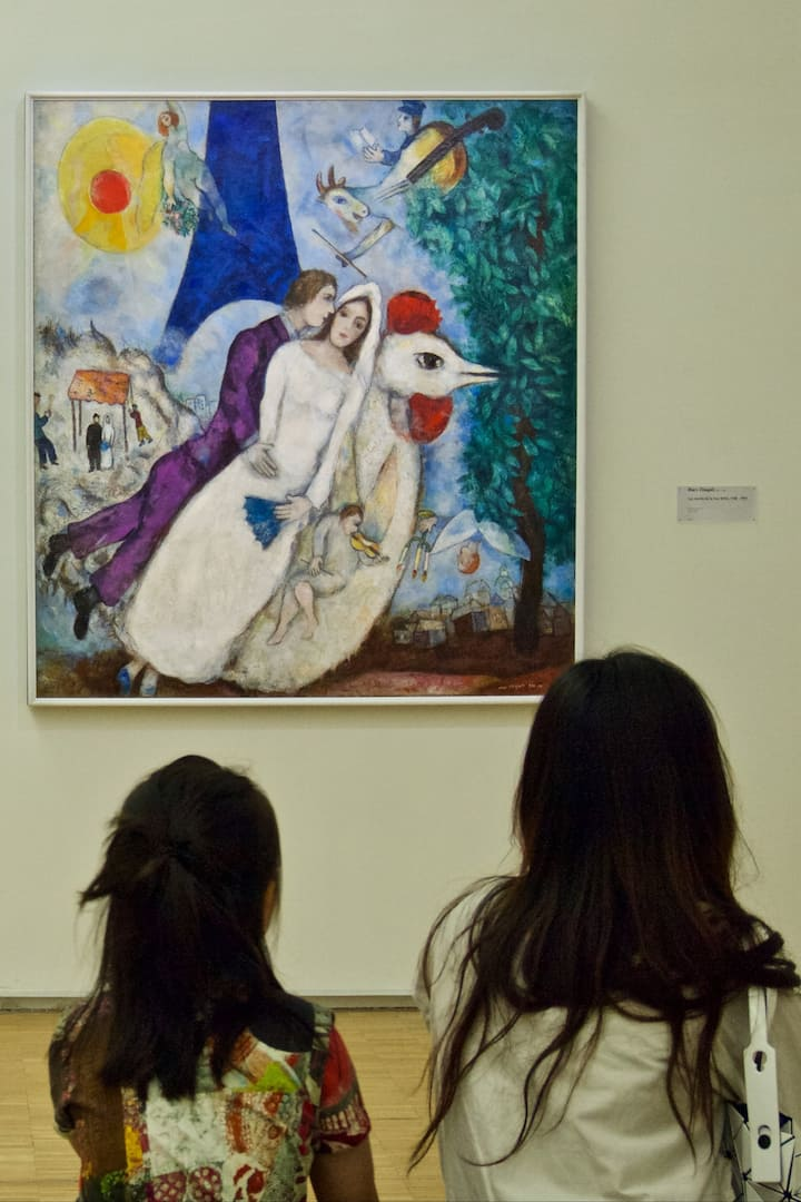 Chagall at Pompidou