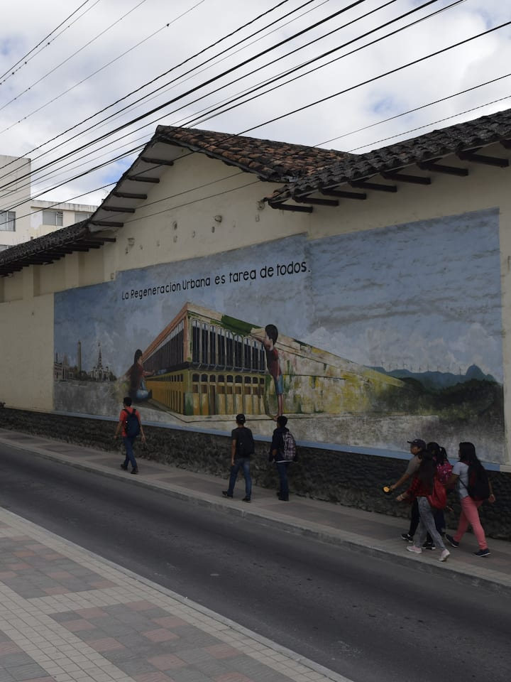 Cleanest city in Ecuador