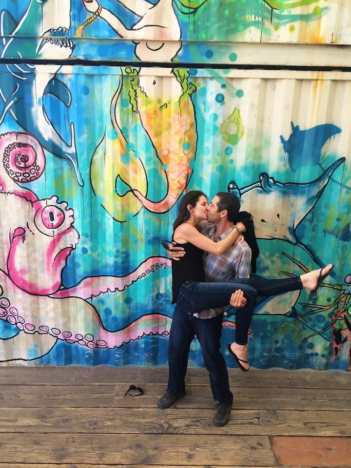 Tijuana's street art makes for photos!
