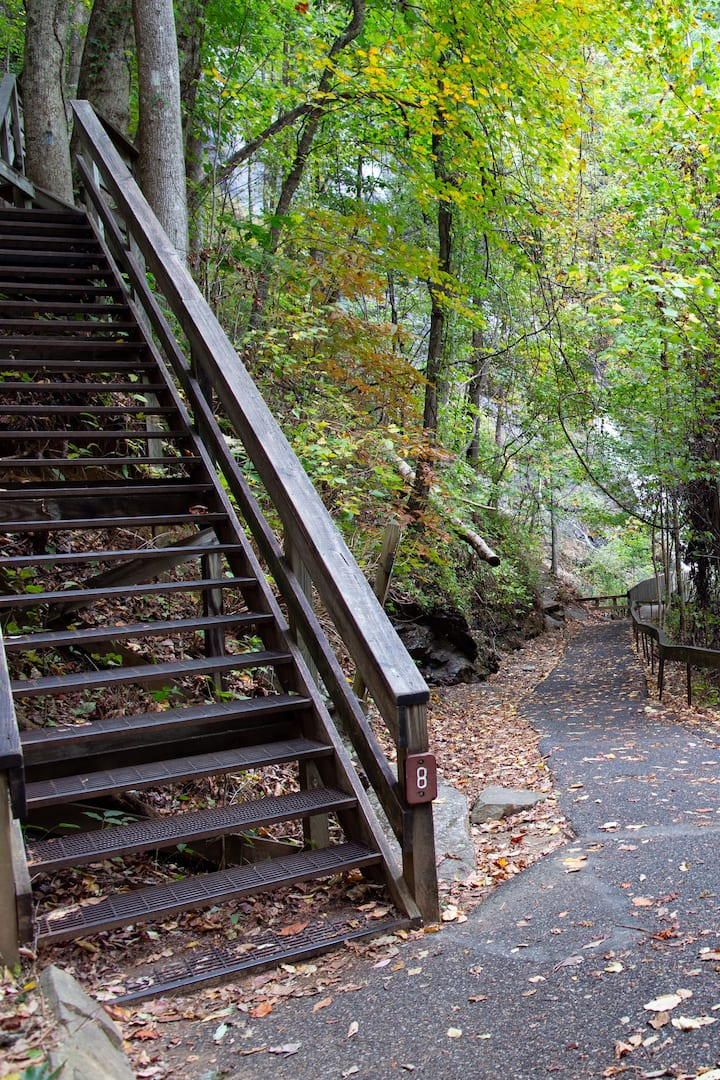 425 strenous steps for hikers