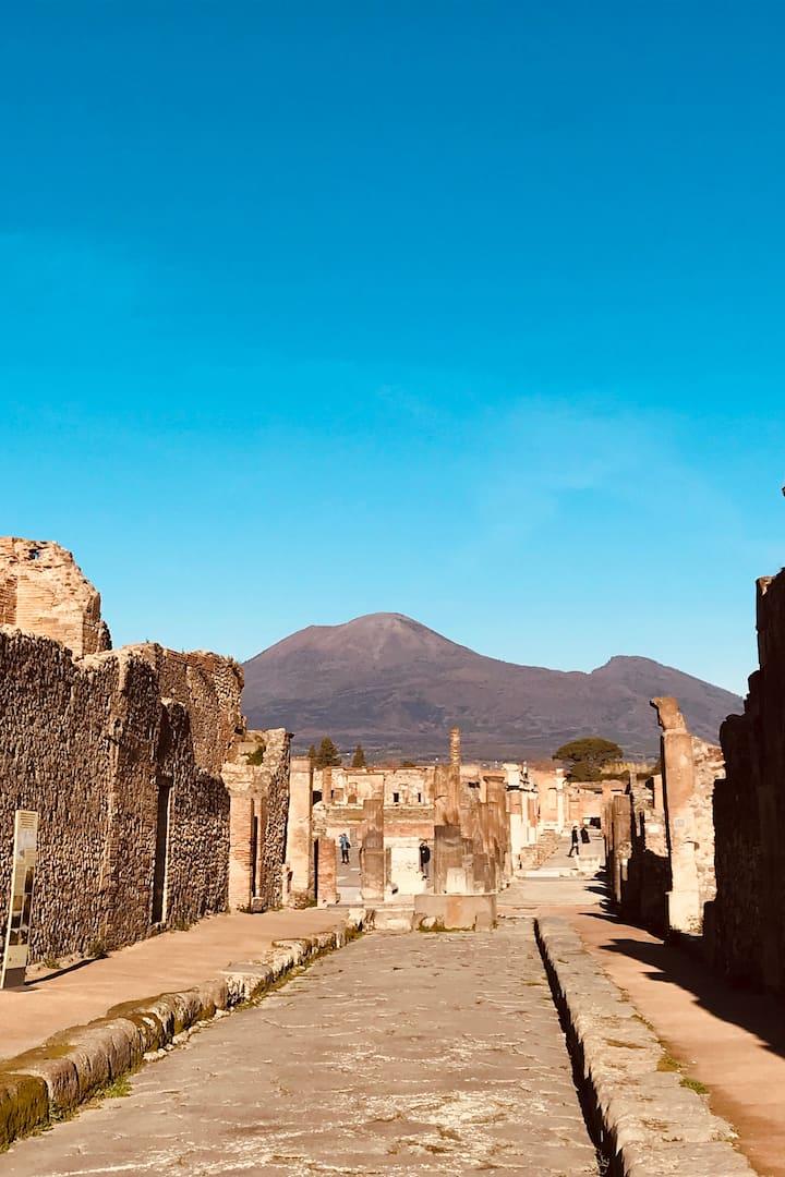 Pompeii - streets
