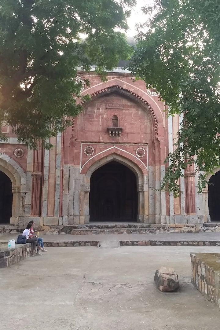 Jamali -Kamali Tomb and Mosque
