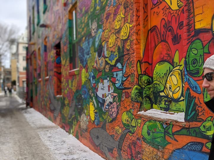 Toronto's Famous Graffiti Alley