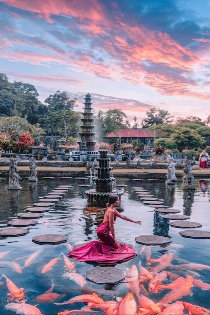 Tirta Gangga (water palace)