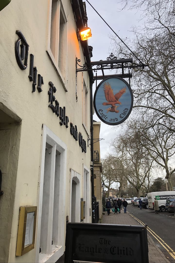 Where the Inklings met for a pint