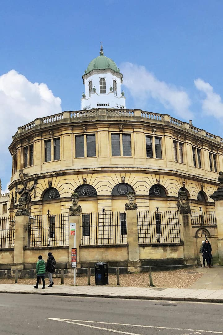 The Sheldonian, by Christopher Wren