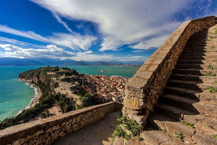 Palamidi Fortress (Naflio City Overview)