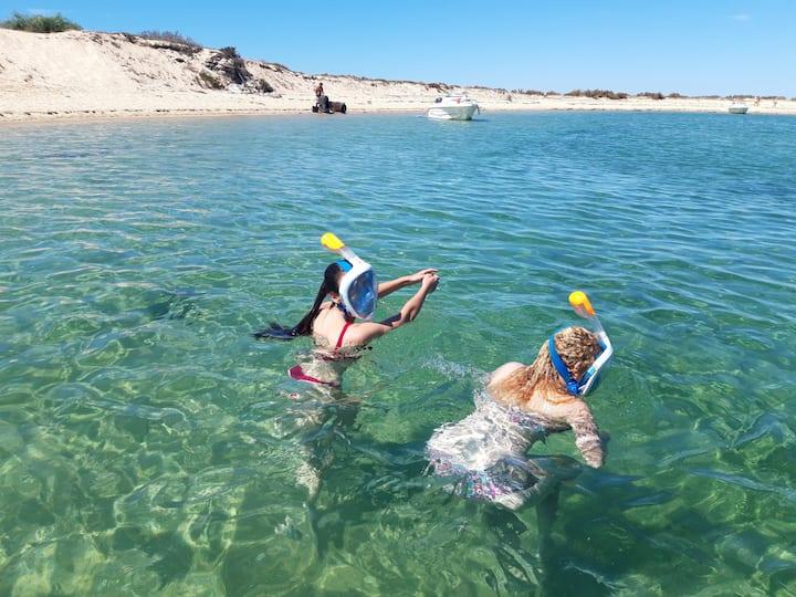Snorkeling na Ilha Deserta