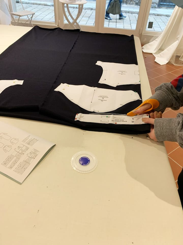 Cut and assemble the pattern