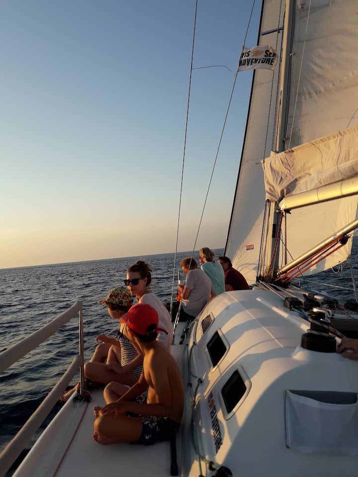 sailing the archipelago of Vis Island