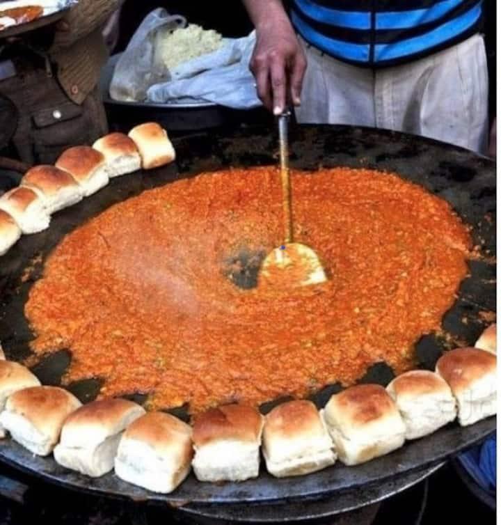 pav bhaji preparation