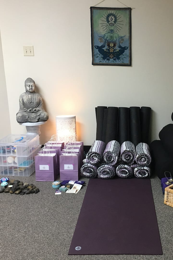 Yoga Workshop Supplies