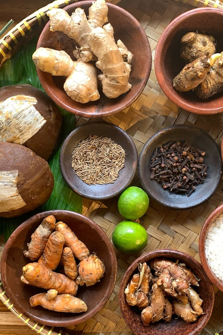 The Herbs for Jamu