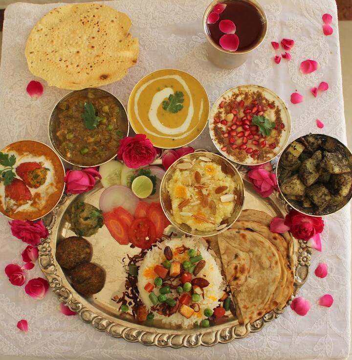 Awadhi meal