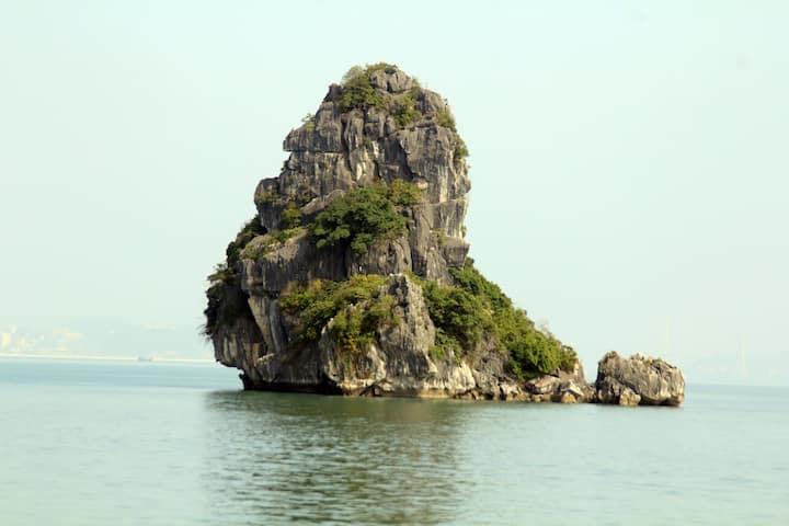 Lonely islet