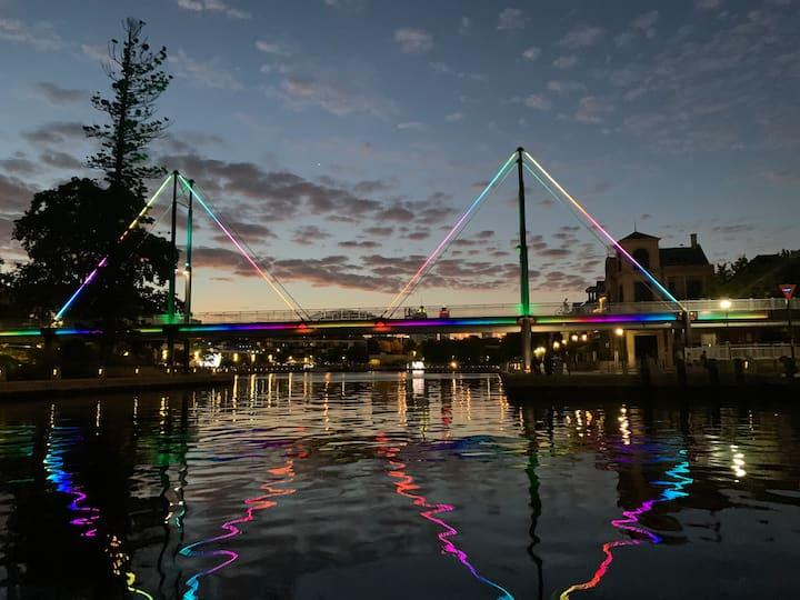 Claisbrook Rainbow Bridge