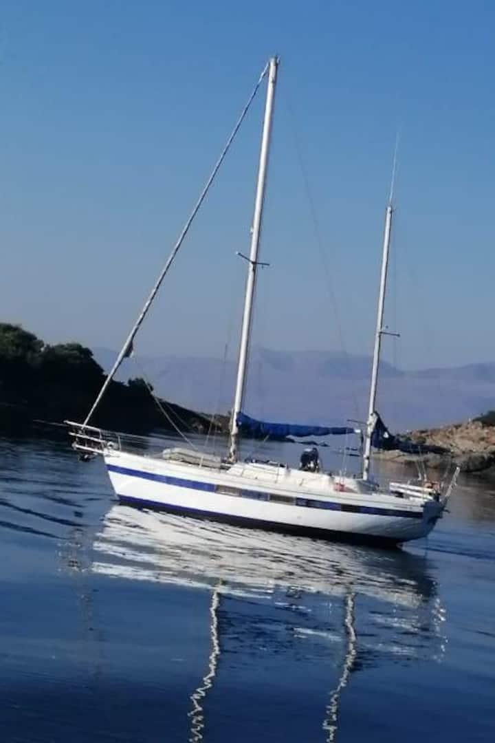 My sailboat, an old navy Ketch