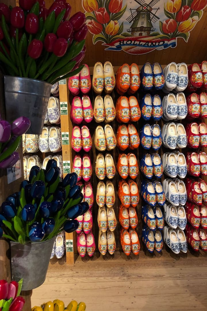 Buy your own wooden shoes!