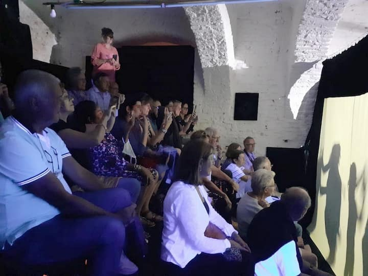 Audience amazed by the show