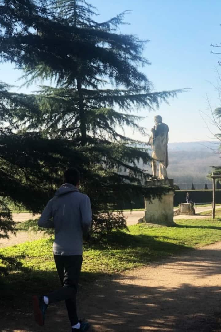 "Statue ""Hercule Commode"""