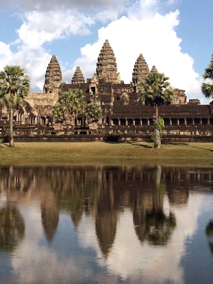 The best reflection of Angkor