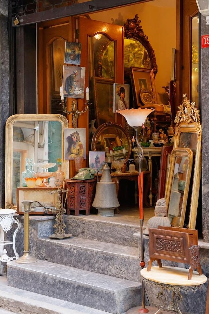 one of the antique shop
